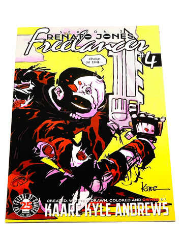 RENATO JONES - FREELANCER #4. NM CONDITION.
