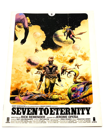 SEVEN TO ETERNITY #11. NM CONDITION.