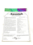 AD&D. I6 - RAVENLOFT. FN CONDITION.