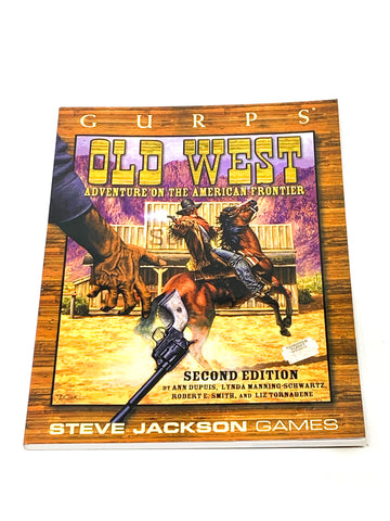 GURPS - OLD WEST. VFN CONDITION.