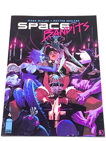 SPACE BANDITS #4. NM CONDITION.