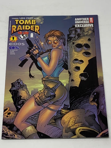 TOMB RAIDER #1. ANOTHER UNIVERSE VARIANT COVER. VFN CONDITION.