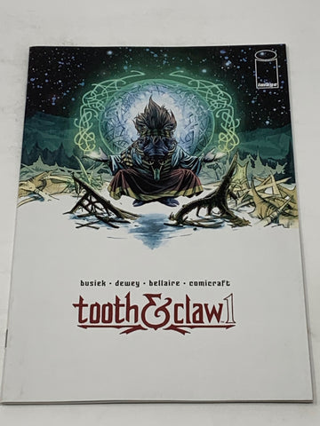 TOOTH & CLAW #1. NM CONDITION.