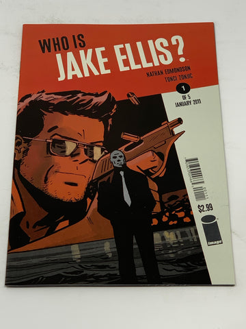 WHO IS JAKE ELLIS? #1. NM CONDITION.