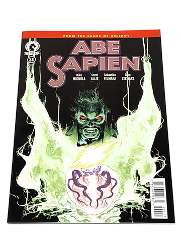 ABE SAPIEN #34. NM CONDITION.