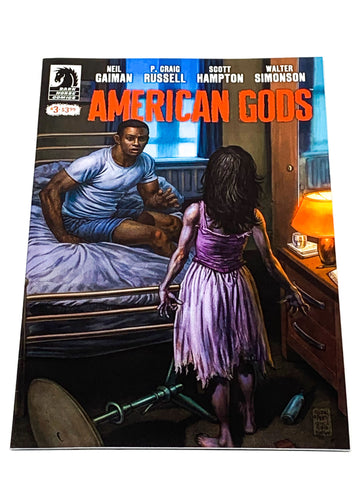 AMERICAN GODS #3. NM CONDITION.