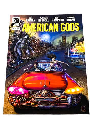 AMERICAN GODS #4. NM CONDITION.