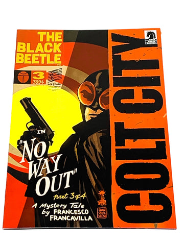 THE BLACK BEETLE - NO WAY OUT #3. NM CONDITION.