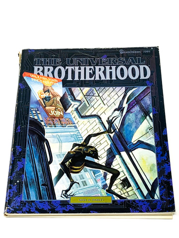 SHADOWRUN RPG - UNIVERSAL BROTHERHOOD SOURCEBOOK. FASA 7205