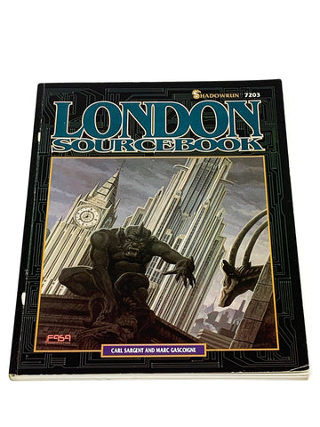 SHADOWRUN RPG - LONDON SOURCEBOOK. FASA 7203
