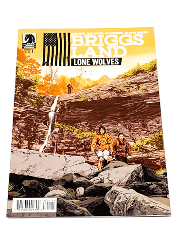 BRIGGS LAND - LONE WOLVES #1. NM CONDITION.