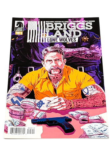 BRIGGS LAND - LONE WOLVES #5. NM CONDITION.