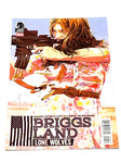 BRIGGS LAND - LONE WOLVES #6. NM CONDITION.