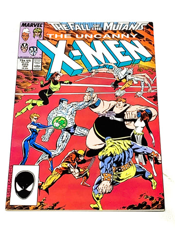 UNCANNY X-MEN #225. VFN- CONDITION.