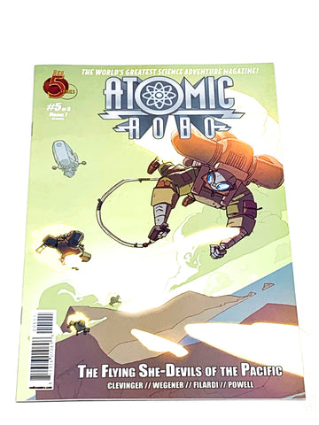 ATOMIC ROBO VOL.7 - FLYING SHE-DEVILS OF THE PACIFIC #5. NM CONDITION