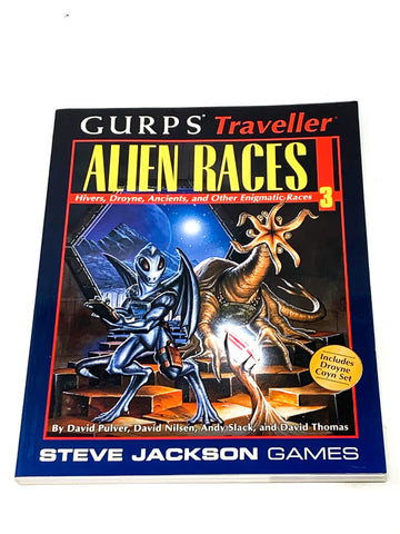 GURPS TRAVELLER - ALIEN RACES VOL.3. VFN CONDITION