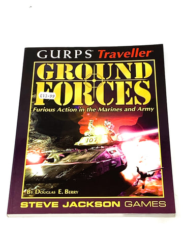 GURPS TRAVELLER - GROUND FORCES. VFN CONDITION