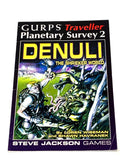 GURPS TRAVELLER - PLANETARY SURVEY 2: DENULI.  FN+ CONDITION