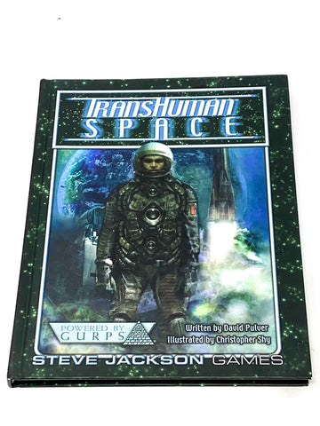 TRANSHUMAN SPACE RPG. H/C RULEBOOK. FN CONDITION
