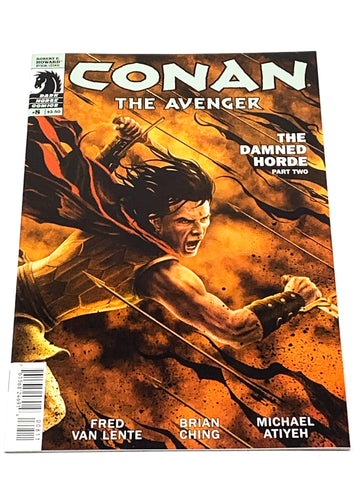 CONAN THE AVENGER #8. NM CONDITION.