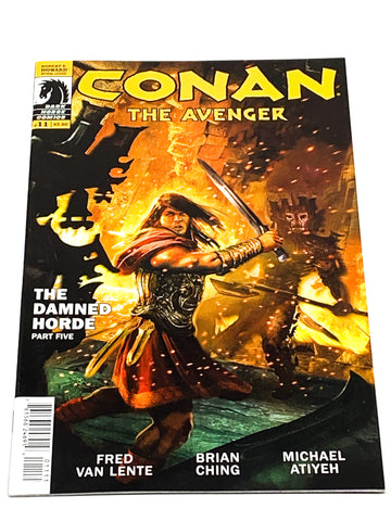 CONAN THE AVENGER #11. NM CONDITION.