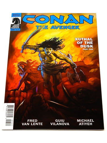 CONAN THE AVENGER #13. NM CONDITION.