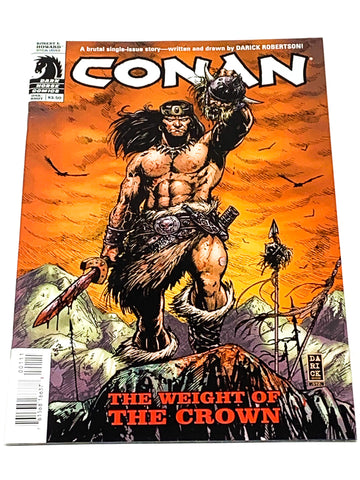 CONAN - THE WEIGHT OF THE CROWN #1. NM CONDITION.