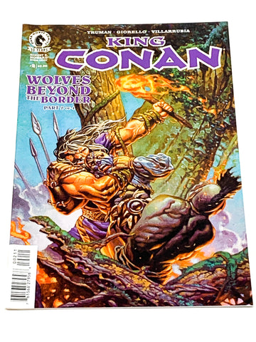 KING CONAN - WOLVES BEYOND THE BORDER #2. NM CONDITION.