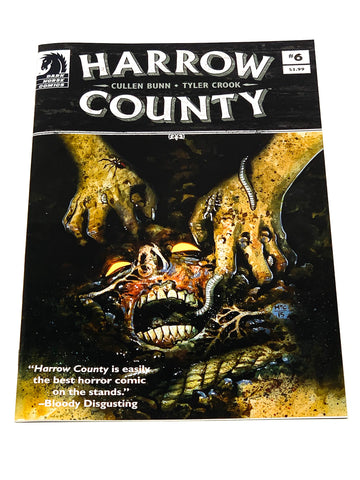 HARROW COUNTY #6. NM CONDITION.