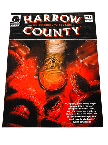 HARROW COUNTY #21. NM CONDITION.