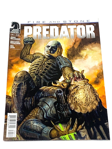 PREDATOR - FIRE & STONE #4. NM CONDITION.