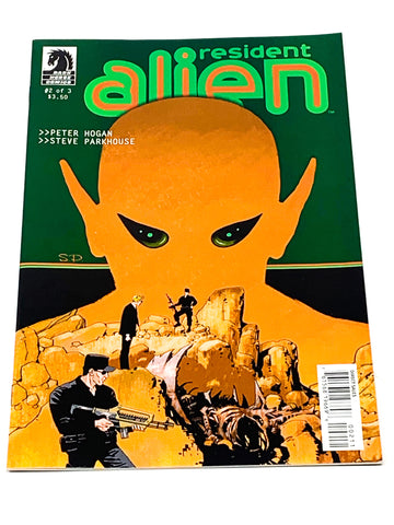 RESIDENT ALIEN #2. NM CONDITION.