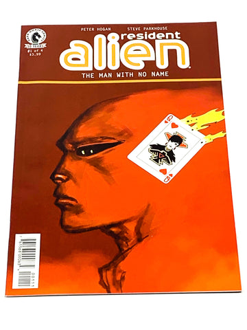 RESIDENT ALIEN  - THE MAN WITH NO NAME #1. NM CONDITION.