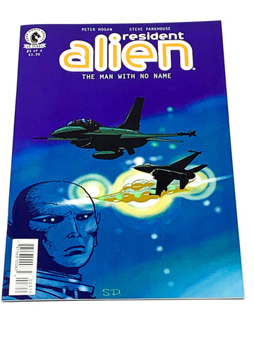 RESIDENT ALIEN  - THE MAN WITH NO NAME #3. NM CONDITION.