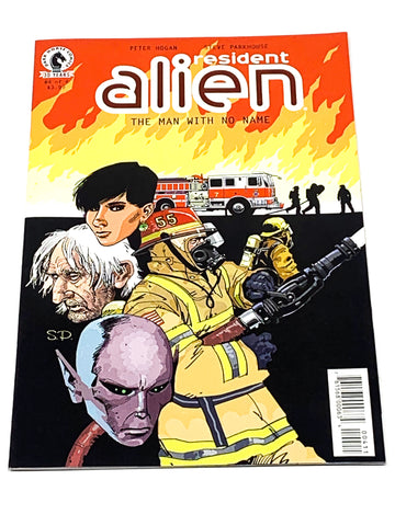 RESIDENT ALIEN  - THE MAN WITH NO NAME #4. NM CONDITION.