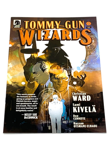 TOMMY GUN WIZARDS #1. NM CONDITION.