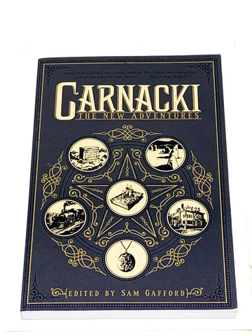 CARNACKI - THE NEW ADVENTURES. VFN+ CONDITION.