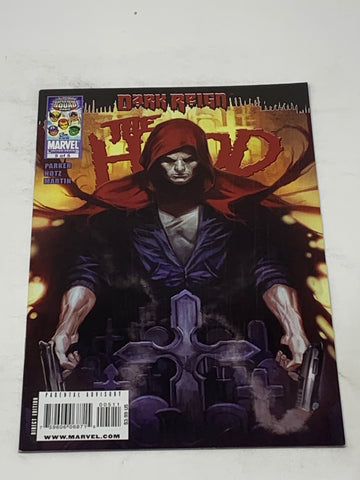 THE HOOD DARK REIGN #5. NM CONDITION.