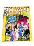MARVEL AGE #54. DOUBLE COVER MISPRINT. VFN CONDITION.