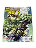 ULTIMATE WOLVERINE VS HULK #5. NM CONDITION.