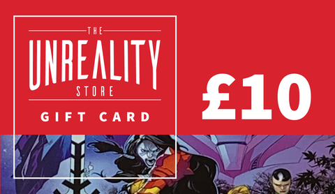THE UNREALITY STORE GIFT CARD