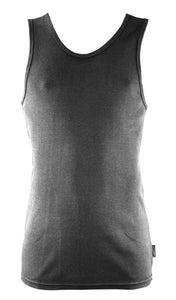 Men's Bamboo Singlet - Slate grey