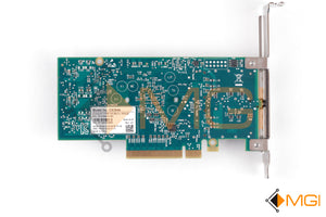 MCX354A-FCBT MELLANOX FDR INFINIBAND + 40GIGE DUAL-PORT QSFP BOTTOM VIEW