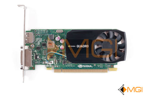 379T0 DELL QUADRO K620 2GB PCIE GRAPHICS CARD HIGH PROFILE FRONT VIEW