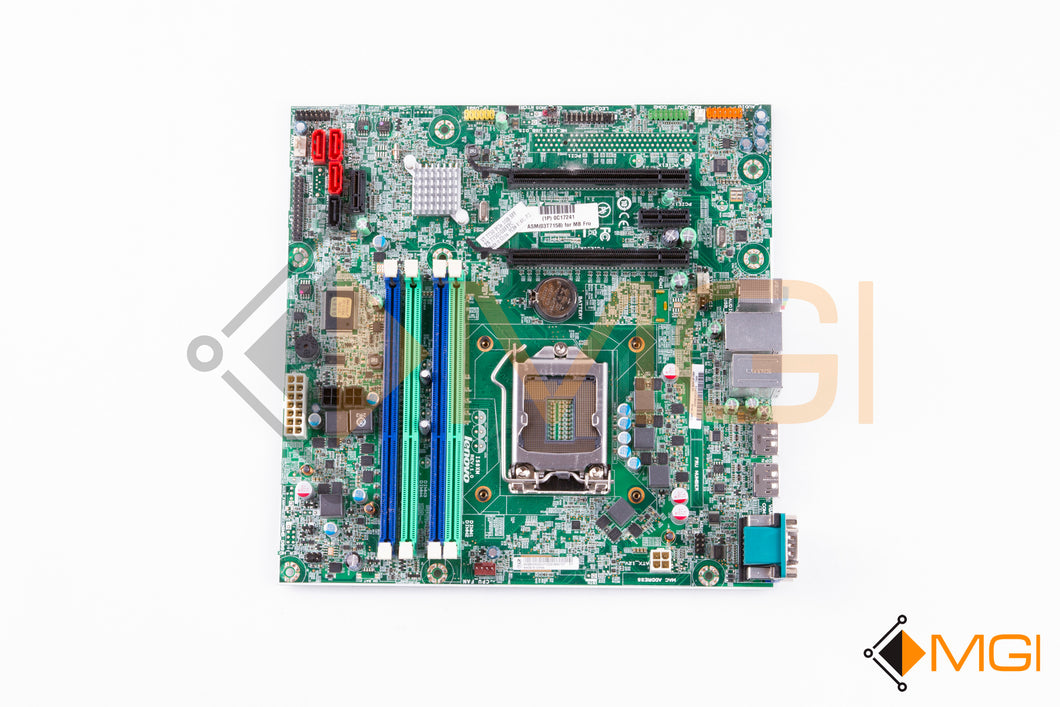 03T7158 LENOVO THINKCENTRE M83 SFF INTEL Q85 LGA1150 MOTHERBOARD TOP VIEW