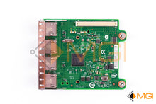 Load image into Gallery viewer, R1XFC DELL INTEL I350 4-PORT 1GB DAUGHTER CARD TOP VIEW