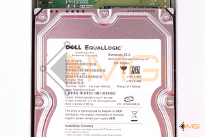 9CA152-056 DELL EQUALLOGIC 250GB 7.2K ES.2 SATA DETAIL VIEW