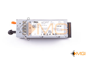 J98GF DELL POWEREDGE T610 R710 570W POWER SUPPLY DETAIL VIEW