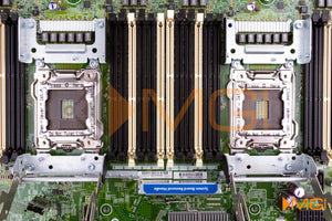 662530-001 HP SYSTEM BOARD DL380p G8 CPU VIEW