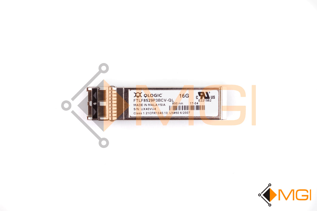 FTLF8529P3BCV-QL 2-PACK QLOGIC 16GB SW SFP+ OPTICAL TRANSCEIVER FRONT VIEW